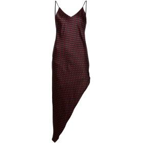 Amiri ドットプリント ドレス - ブラック