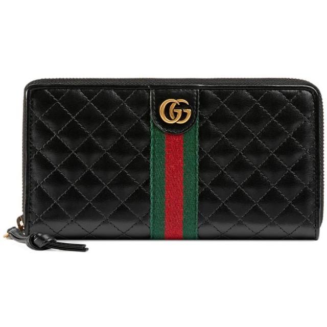 sale retailer 1cec6 d1556 Gucci ダブルG ファスナー長財布 - ブルー 通販 LINEポイント ...