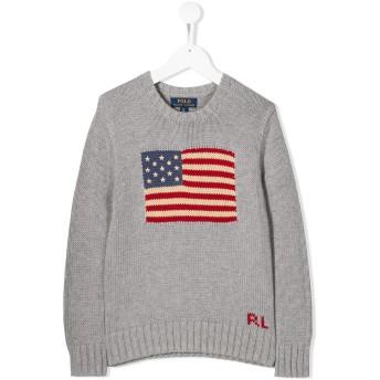 Ralph Lauren Kids American Flag セーター - グレー