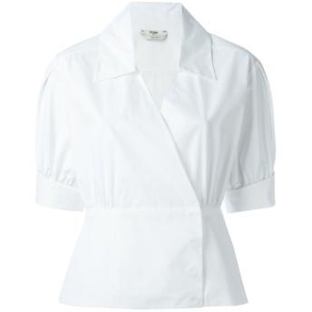 Fendi 半袖ラップシャツ - ホワイト