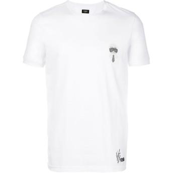 Fendi カーリト Tシャツ - ホワイト
