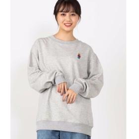 [マルイ]【セール】ワンポイントベア刺繍プルオーバー/ウィゴー(メンズ)(WEGO)