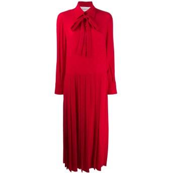 Valentino プリーツドレス - レッド