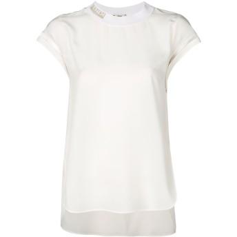 Fendi ブランドロゴ Tシャツ - ホワイト