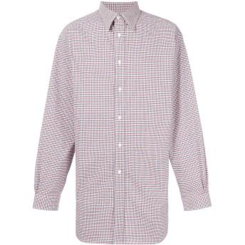 Raf Simons チェックシャツ - ホワイト