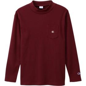 ロングスリーブモックネックTシャツ 19FW キャンパス チャンピオン(C3-Q433)【5500円以上購入で送料無料】