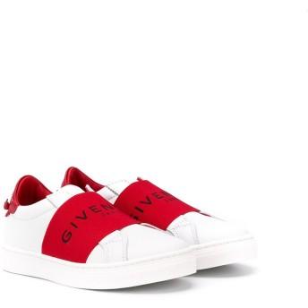 Givenchy Kids ロゴストラップ スニーカー - ホワイト