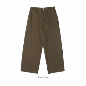 [マルイ] 【大きいサイズ】【L-5L】デニムワイドパンツ/エムビー(大きいサイズ)(MB)