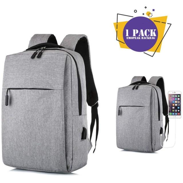 リュック ビジネスリュック メンズ リュック 通勤 通学 多機能のポケット 15.6インチ USB充電ポート搭載 リュックサック 出張 旅行 ブラック