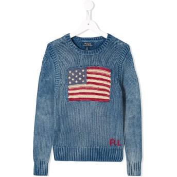 Ralph Lauren Kids USA セーター - ブルー