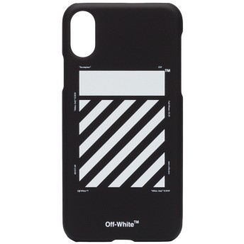 Off-White iPhone X ケース - ブラック