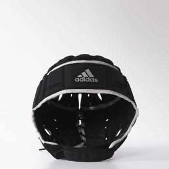 アディダス その他競技 体育器具 ラグビー ラグビー ヘッドガード WE614 F41033 メンズ ブラック/マットシルバー