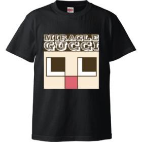 近いよ~顔が~ (Tシャツ)(カラー : ブラック, サイズ : XL)