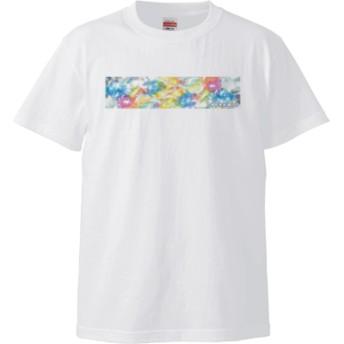 ビー玉 Tシャツ(カラー : ホワイト, サイズ : S)