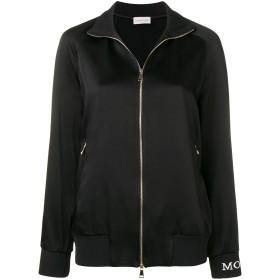 Moncler サイドストライプ ジャケット - ブラック