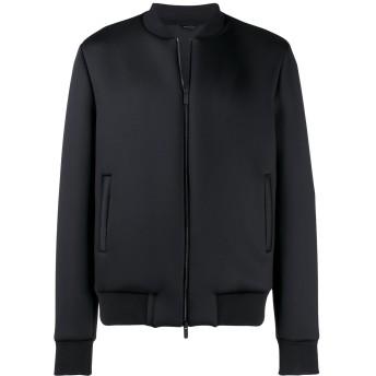 Fendi ロゴ ボンバージャケット - ブラック