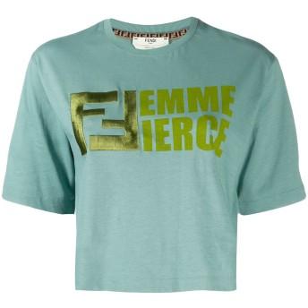 Fendi Femme Fierce Tシャツ - ブルー