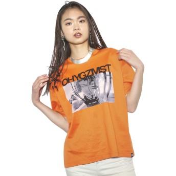 (アールフォージ―) R4G コードギアス ORENGE再生 Tシャツ ユニセックス L オレンジ