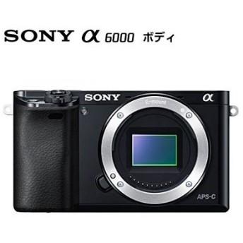 SONY α6000 ILCE-6000 ボディ ブラック [デジタル一眼カメラ (2430万画素)]