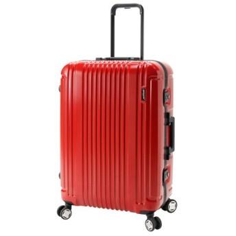 カバンのセレクション バーマス プレステージ3 スーツケース 軽量 フレーム Mサイズ 66L BERMAS 60285 メンズ レッド フリー 【Bag & Luggage SELECTION】