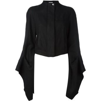 Loewe フレアスリーブ クロップドジャケット - ブラック