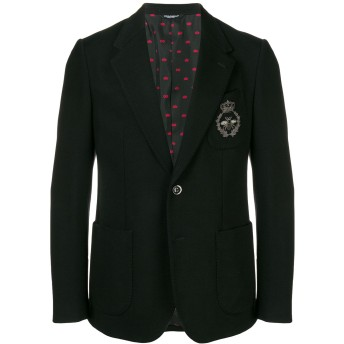 Dolce & Gabbana ミラノステッチ ブレザー - ブラック