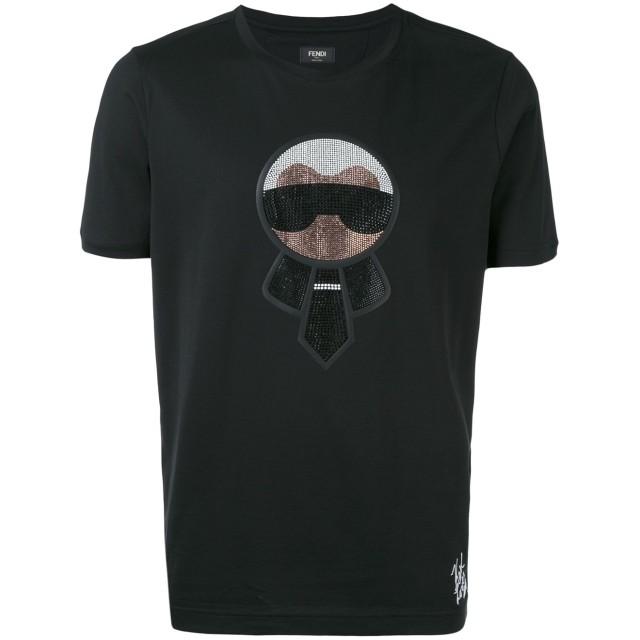 Fendi Karlito Tシャツ - ブラック