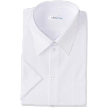 [富士ヨット学生服] 男子 半袖シャツ ノーアイロン お手入れ楽 ラクシャツ 接触冷感 TSCOOL01 白 180A