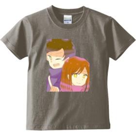 たまみーTシャツ 【子供用】(カラー : ライトグレー, サイズ : 130)