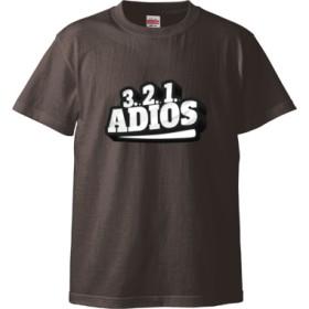 3.2.1 ADIOS(Tシャツ)(カラー : チャコール, サイズ : S)