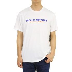 (ポロ ラルフローレン) POLO Ralph Lauren メンズ 半袖 POLO SPORT ポロスポーツ Tシャツ トレーニングシャツ 0107234-XL-WHITE [並行輸入品]