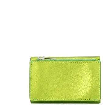 Mm6 Maison Margiela 三つ折り財布 - グリーン