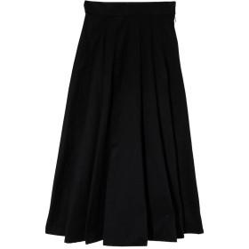 エイミーイストワール eimy istoire タックフレアボリュームスカート (BLACK)