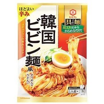 【訳あり 特価】 賞味期限:2020年12月7日 具麺 韓国ビビン麺風 (110g) 麺にかけるだけで麺料理の味付け