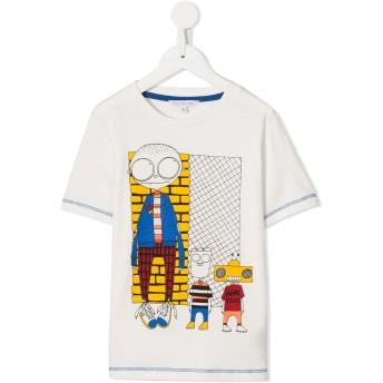 Little Marc Jacobs Mr. Marc Tシャツ - ホワイト
