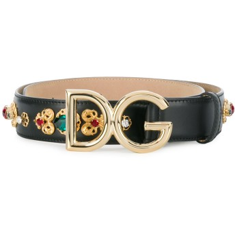 Dolce & Gabbana バックルベルト - ブラック