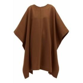 アーペーセー A.P.C. レディース ワンピース ワンピース・ドレス X Suzanne Koller Margarete wool-blend dress Brown