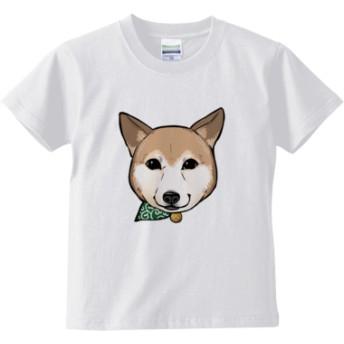顔デカむぎTシャツ(カラー : ホワイト, サイズ : 160)