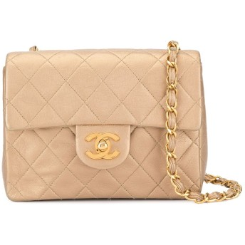 Chanel Pre-Owned ココマーク ショルダーバッグ - ニュートラル