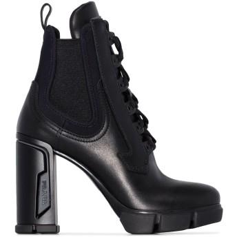 Prada ミリタリー ブーツ - ブラック
