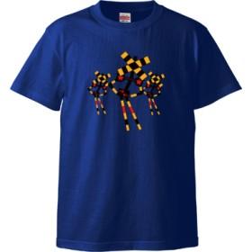 踏切ダンス Tシャツ(カラー : ロイヤルブルー, サイズ : L)