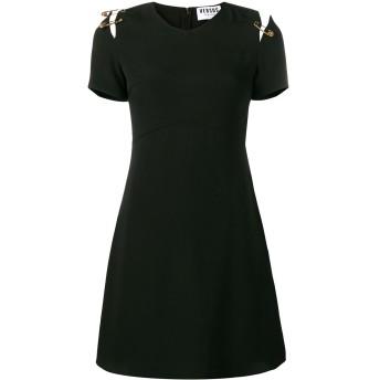 Versus Vネック ドレス - ブラック