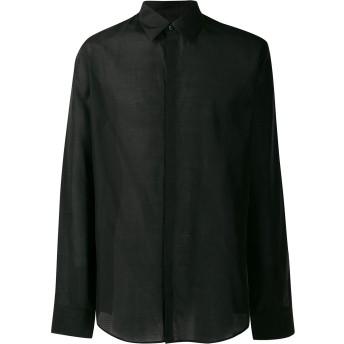Fendi Karligraphy クラシックシャツ - ブラック