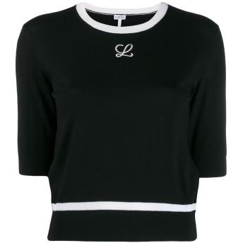 Loewe ロゴ セーター - ブラック