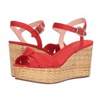 Kate Spade New York ケイト・スペード レディース 女性用 シューズ 靴 ヒール Tilly Maraschino Red Grosgrain【送料無料】
