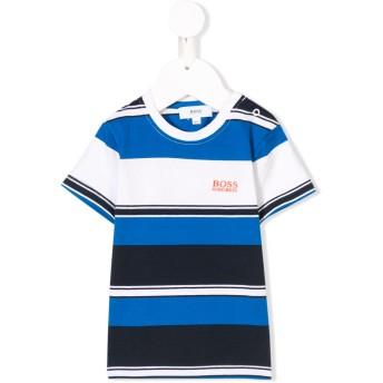 Boss Kids ストライプ Tシャツ - ブルー