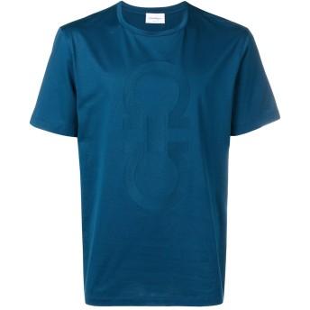 Salvatore Ferragamo ロゴ Tシャツ - ブルー