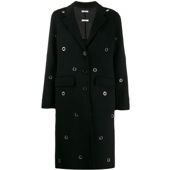 P.A.R.O.S.H. アイレット シングルコート - ブラック
