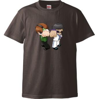 トムとマルク ver.2(Tシャツ)(カラー : チャコール, サイズ : XL)