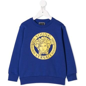 Young Versace メデューサ スウェットシャツ - ブルー